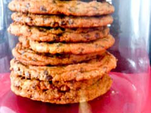 chocolate chip cookies flat and chewy
