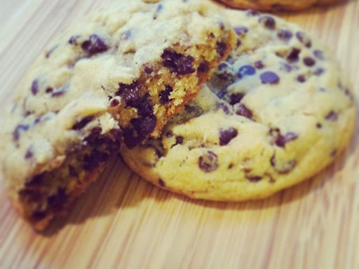 chocolate chip cookies soft and chewy