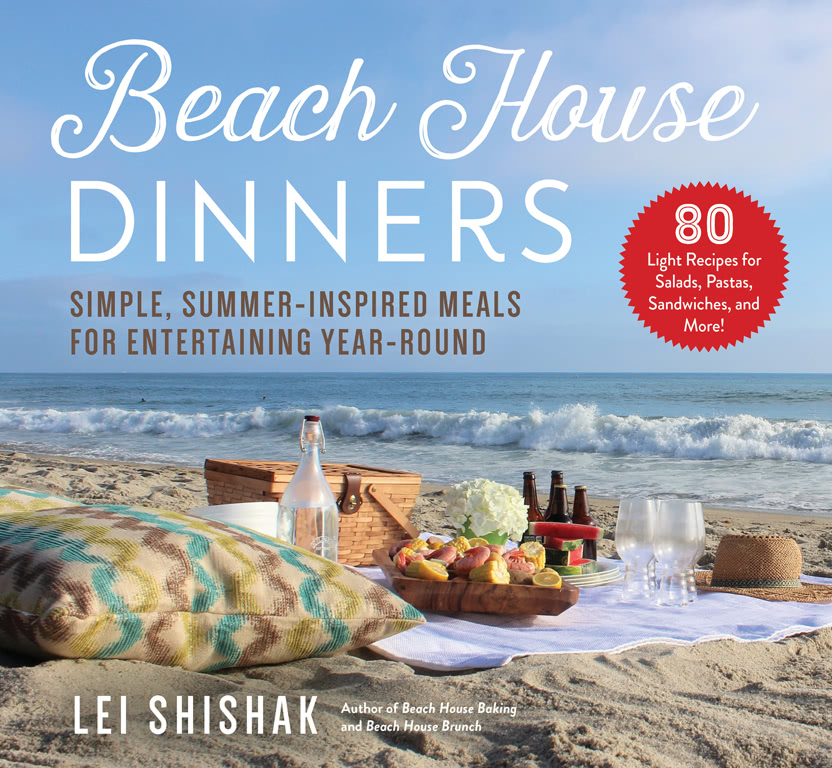beach house dinners cookbook