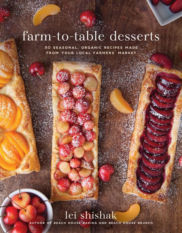 farm to table desserts cookbook