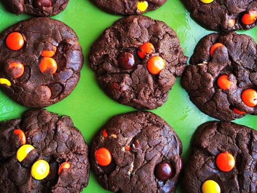 reeses pieces chocolate drops