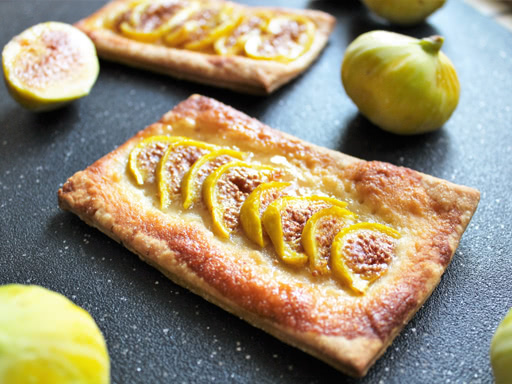 white fig slab pie